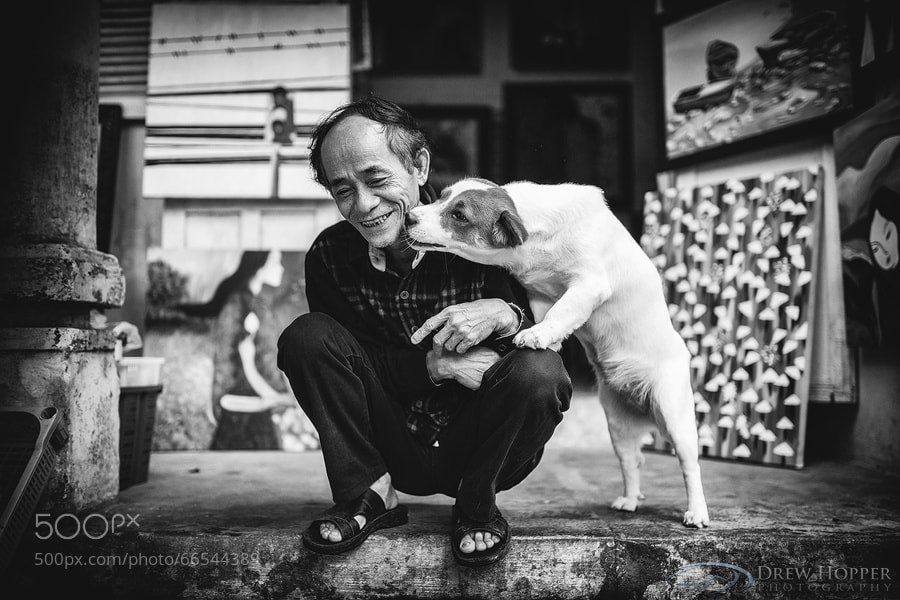 Photograph Mans Best Friend by Drew Hopper on 500px