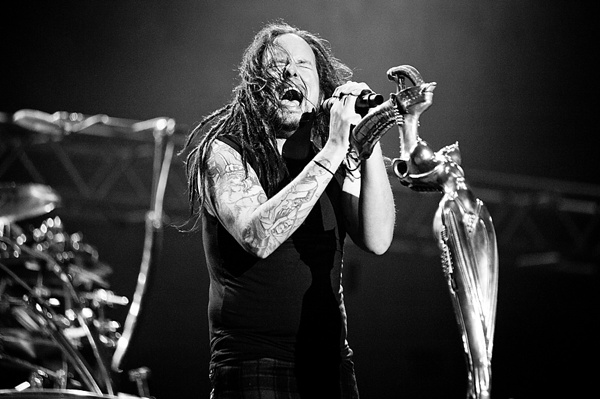 Korn concert photography settings