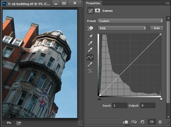 Photoshop-make-adjustments-using-the-curves-dialog-opener