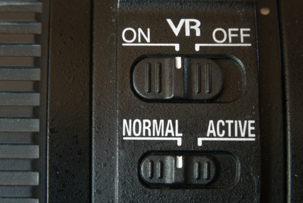 VR button