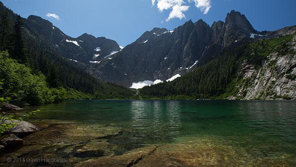 Unprocessed RAW image of Landslide Lake - Gavin Hardcastle