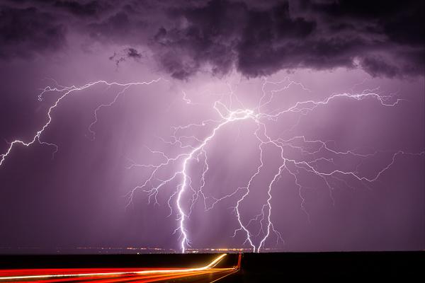 Whetstone - (Highway 90 near Whetstone, AZ 50mm, ISO 100, f/5.6, 25 sec)