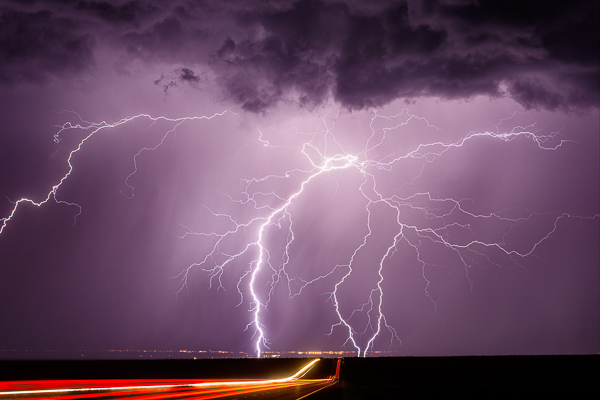 Whetstone - (Highway 90 near Whetstone, AZ 50mm, ISO 100, f/5.6, 25 sec)
