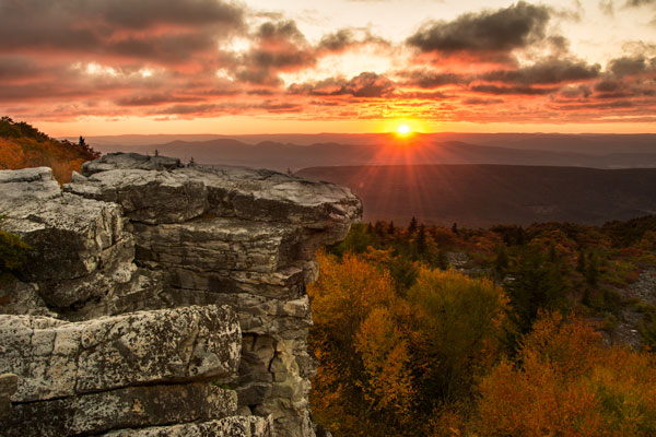 Final Image  Bear Rock, Dolly Sod Wilderness Area, West Virginia