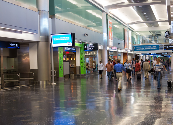 New American Airlines terminal in Miami