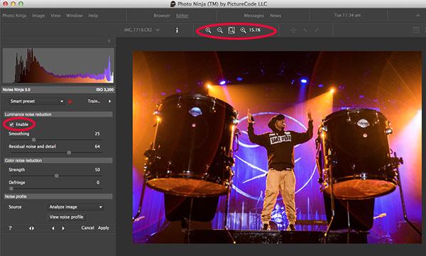 Photo Ninja noise reduction plugin