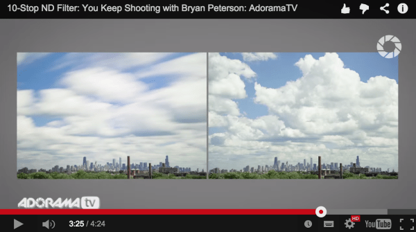 How to Use a 10 Stop Neutral Density Filter to add Drama to the Sky