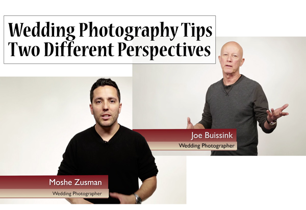 Wedding Photography Tips with Two Different Perspectives