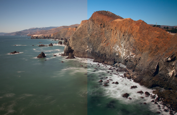 Marin County Headlands with LAB adjustments
