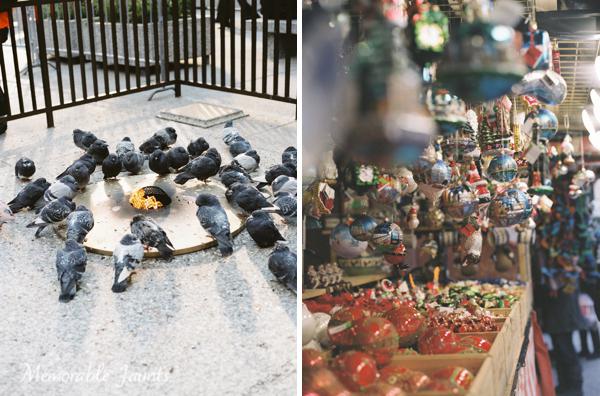Medium Format Film Mamiya Christmas Market in Downtown Chicago by Memorable Jaunts