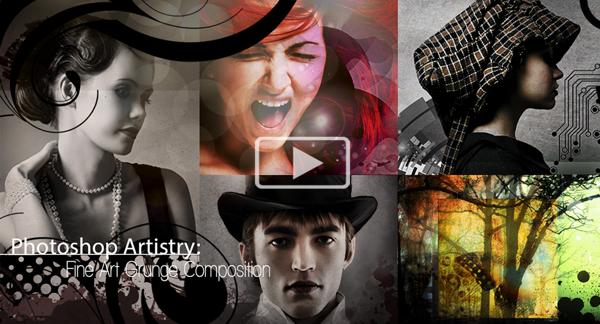 Deal 8: 70% off Photoshop Artistry: Fine Art Grunge Composition Course