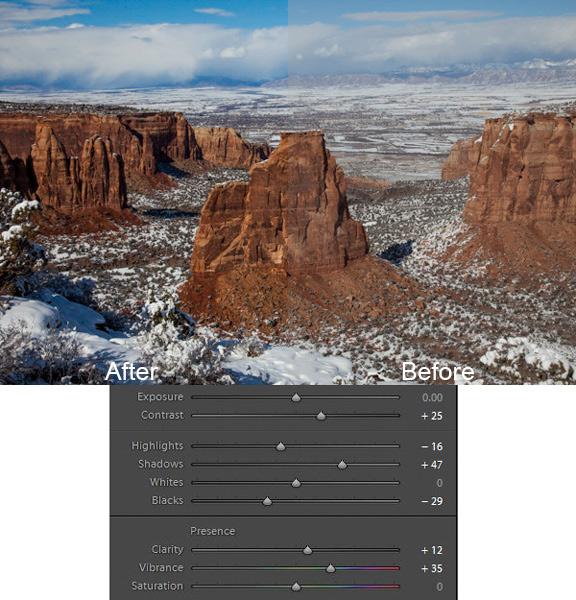 A Super Simple Way to Make Landscape Photos POP Using Lightroom