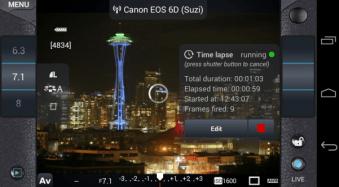 Review: slingShot DSLR Remote Control App
