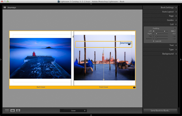 how to create a blurb book in indesign