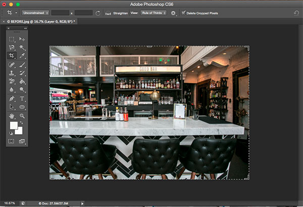 How to Correct Lens Distortion with the Adaptive Wide Angle