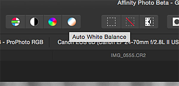 Affinity Photo editing software for Mac