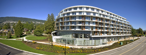 Panoramic images work well for architectural photography