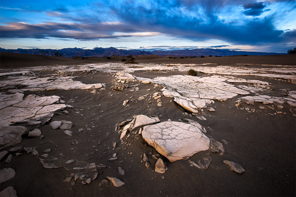 Mesquite Sand Dune Crust | Death Valley National Park