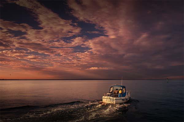 5 LeanneCole mordiallic phillip bay boat