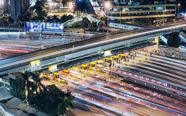 Light Trail Hong Hum