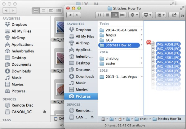 import-photos-using-finder-on-the-mac