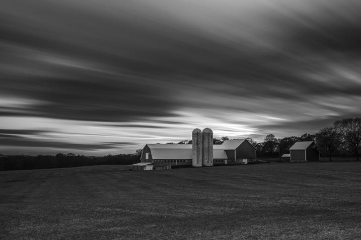 long exposure farm