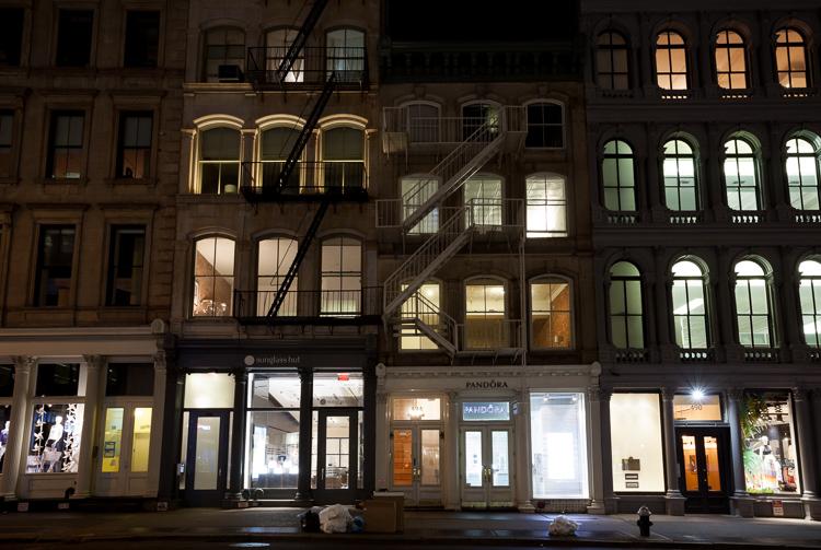 SoHo at Night, NYC.