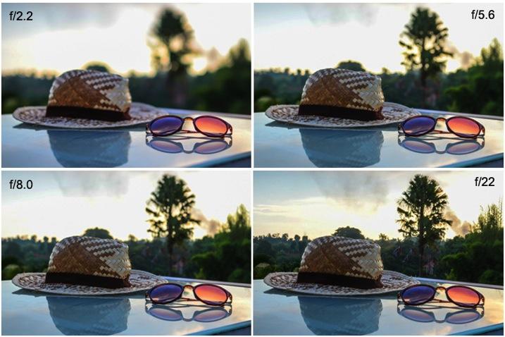 5 aperture example