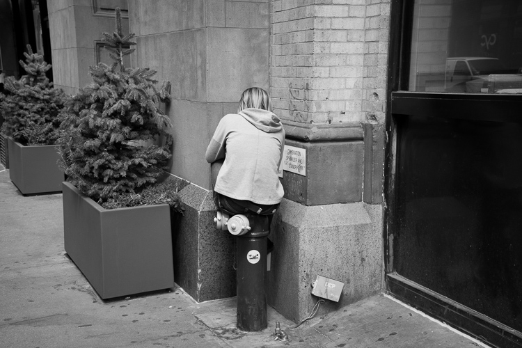 Disconnected, NYC.