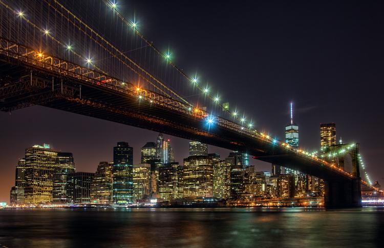 Proper Exposure at Night - Brooklyn Bridge