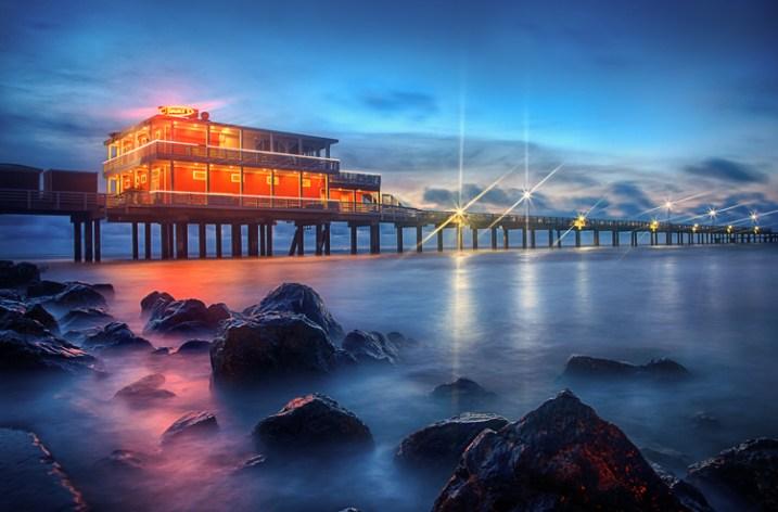 Night Photographer's Toolkit - Galveston fishing pier photo