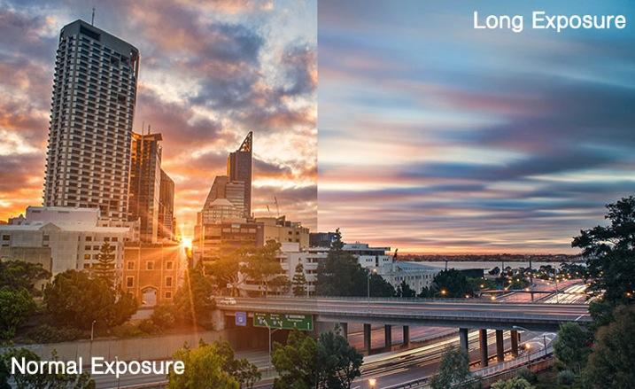 Normal vs Long exposure