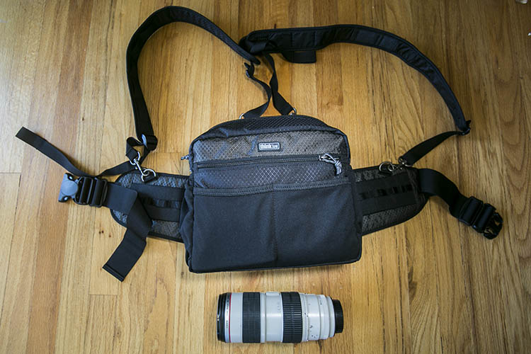 Think Tank Changeup Bag photographer ergonomics
