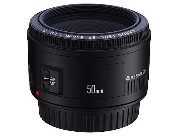 Canon EF 50mm f1.8 II Camera Lens