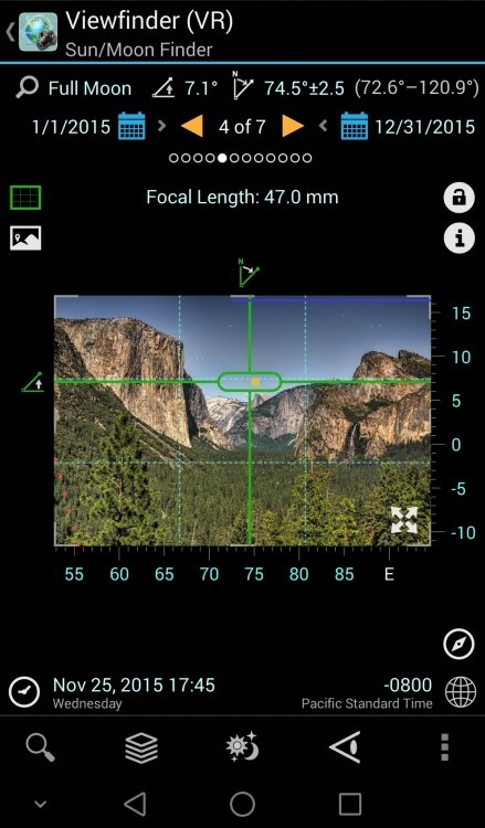 Using the PlanIt! App to Plan your Photography Shots