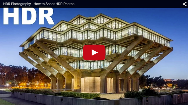 How to Shoot Images and Use Merge to HDR in Lightroom 6