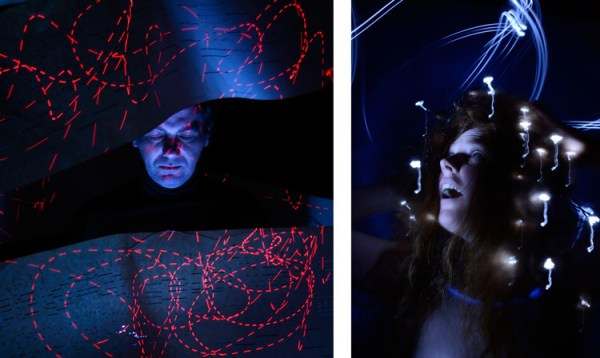 How to Make Unique Portraits Using Light Painting