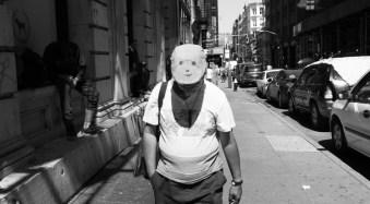 Smiley Face, SoHo, NYC.
