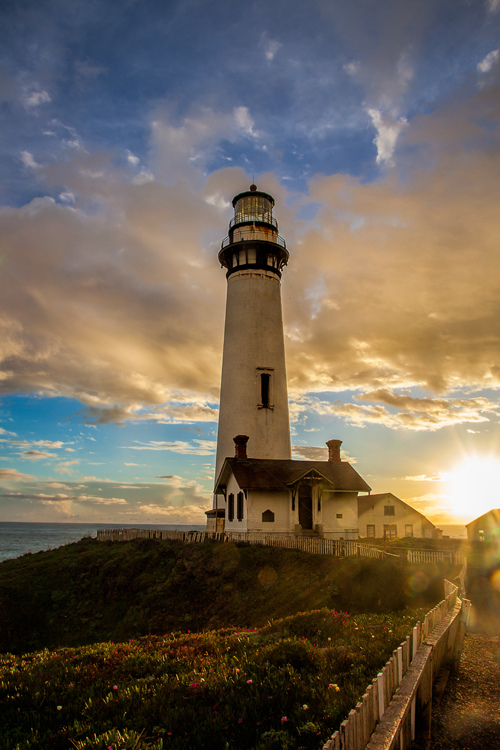 Top Coastal Formations - Sunset at Pigeon Point