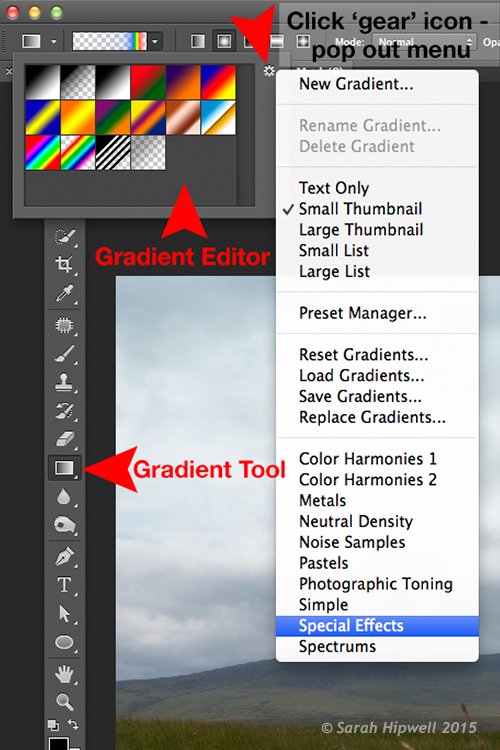 Gradient-editor-pop-out-menu-special-effects