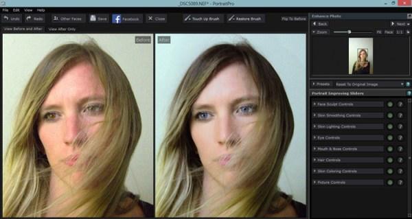 Portrait Pro v12 Studio Max Editing Software Review