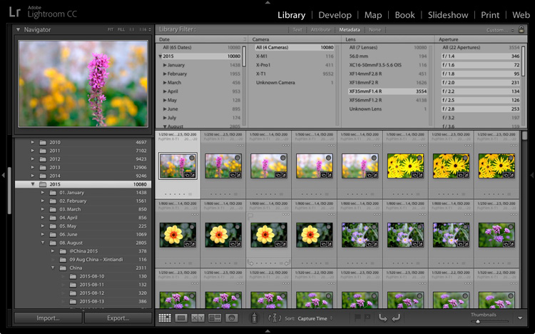 A brief introduction to Lightroom