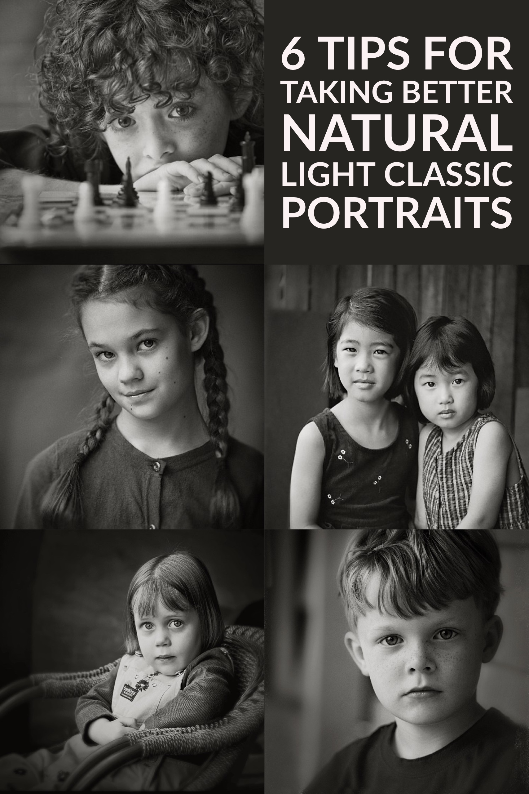 6 Tips for Taking Better Natural Light Classic Portraits