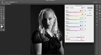 How to Create a Hollywood Film Noir Portrait