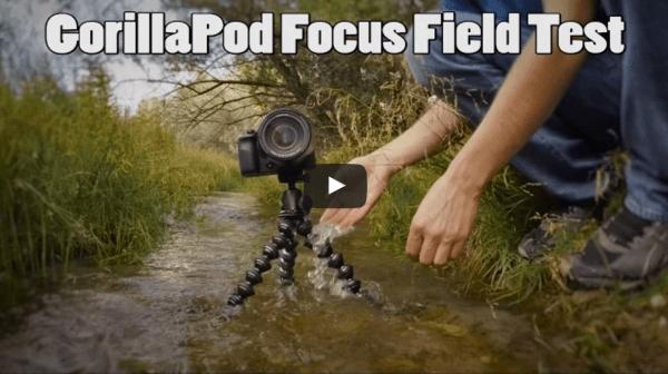 Tripod Review: Gorillapod Focus Field Test