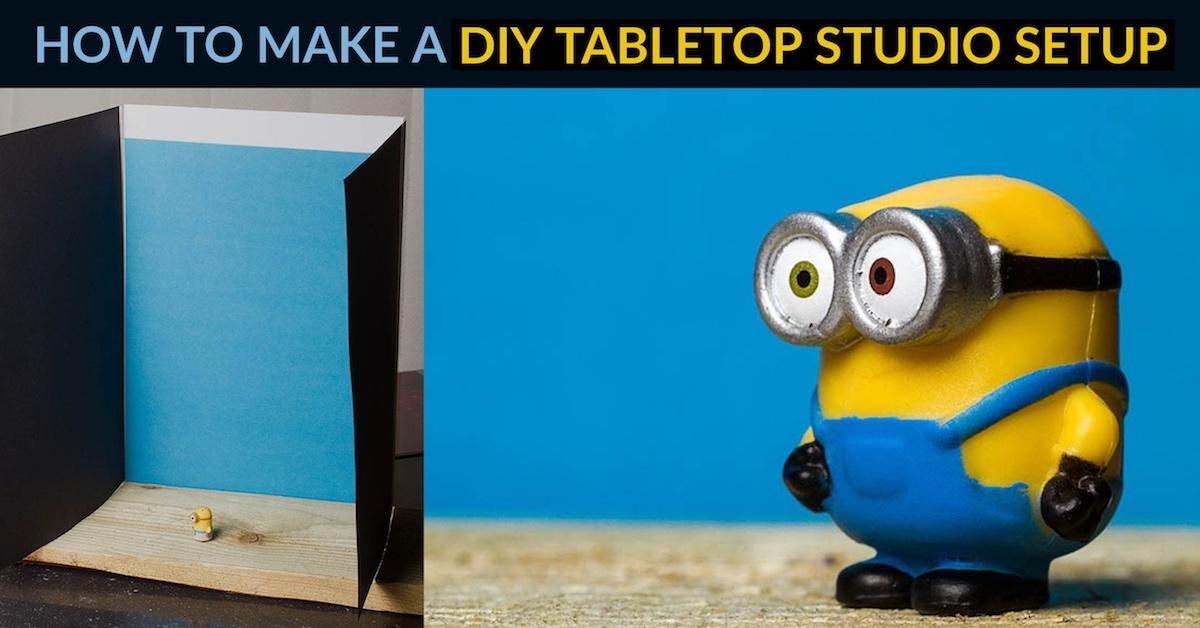如何制作DIY桌面工作室设置