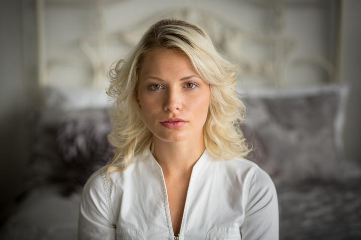 soft light portrait of a woman