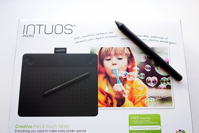 Intuos Photo Creative Pen and Touch Tablet