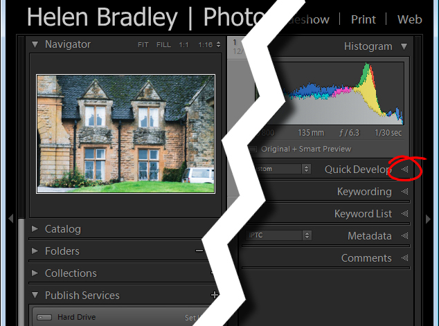 Lightroom interface quiz - image for question 3