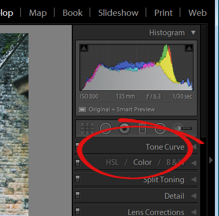 Lightroom interface quiz - image for question 4